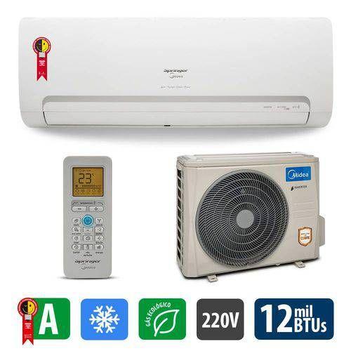 Ar Condicionado Split Inverter High Wall 12.000btus Wi-Fi Ready 42mbca12m5 Midea - Springer