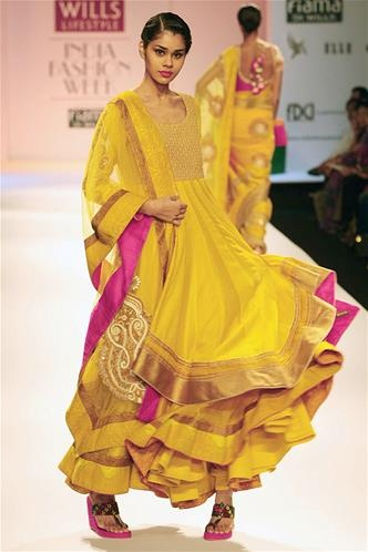 Wills Lifestyle India Fashion Week - AW13 : Ekta Jaipuria and Ruchika Kandhari