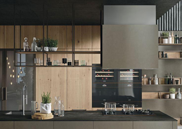 127 besten kitchens cucine bilder auf pinterest. Black Bedroom Furniture Sets. Home Design Ideas