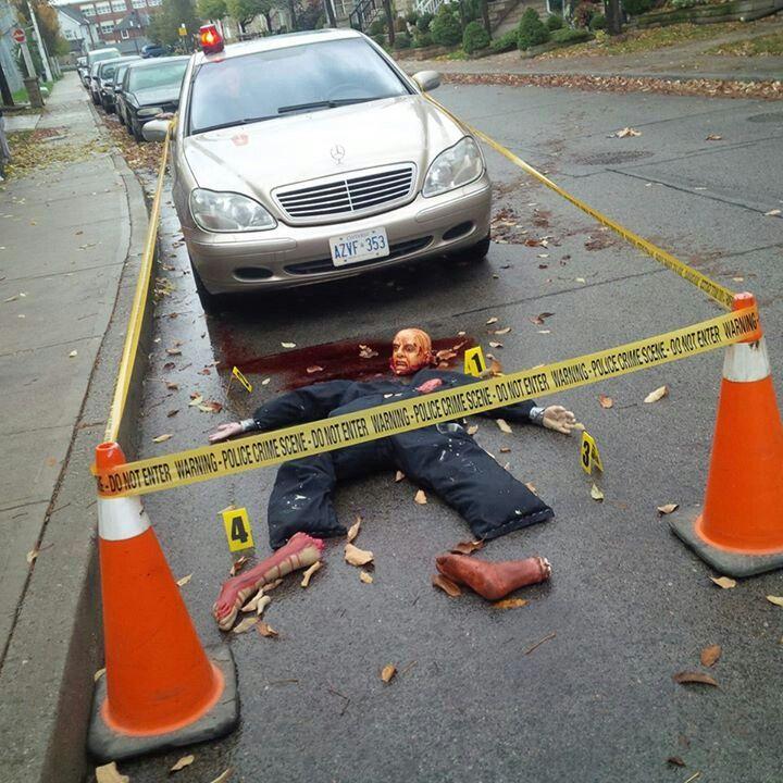 Best 25 Halloween Crime Scene Ideas On Pinterest