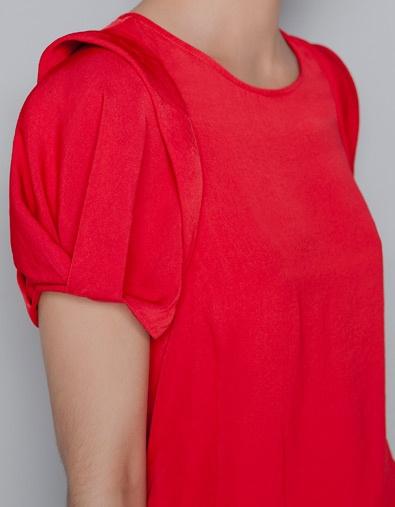 PUFF SLEEVE TOP - Shirts - Woman - ZARA  Ref. 1836/223 | 12.99 EUR (260K)