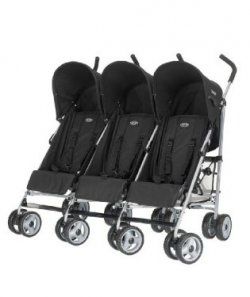 If you are in the market for triple baby pushchairs, you might want to consider Obaby Triple Pushchair, a side by side, umbrella folding baby...