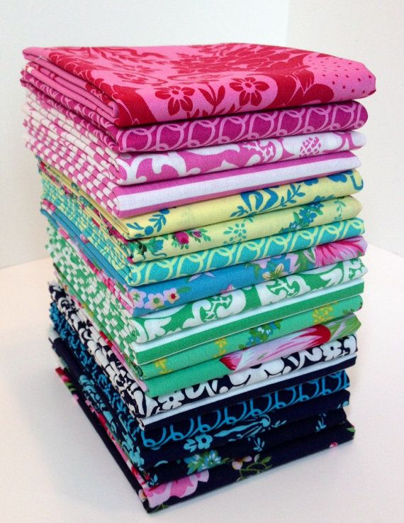 IN STOCK Beauty Queen Fat Quarter Bundle Jennifer Paganelli for Freespirit Fabrics Sis Boom Complete Collection 18 pieces