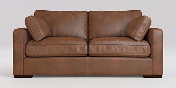 Buy Idaho Small Sofa (2 Seats) Antique Leather Whisky Standard from the Next UK online shop
