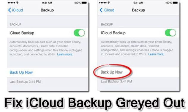 Solved Icloud Backup Greyed Out On Iphone Ios 13 Supported