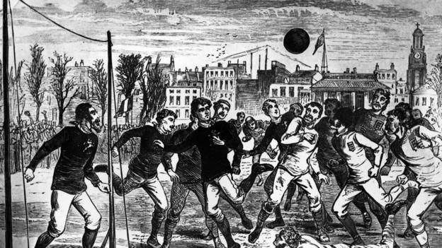When the first FA Cup final was played in 1872 football's rules had not even been finalised. But what was the story of the day?