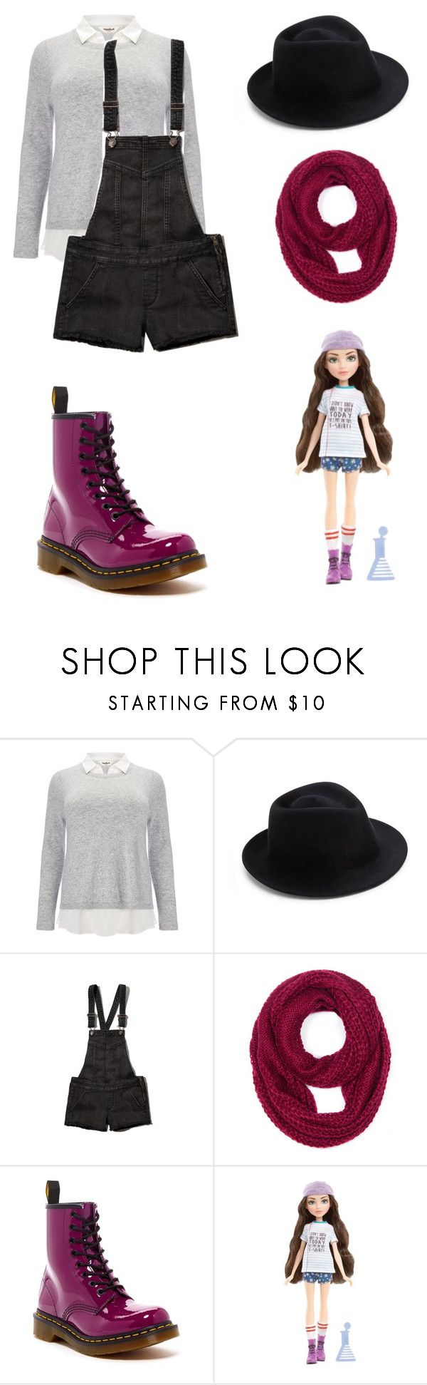 """Project MC2 McKeyla Themed Outfit"" by artsydoglovergabs ❤ liked on Polyvore featuring Studio 8, Eugenia Kim, Abercrombie & Fitch, Jasmine, Dr. Martens and MC2"