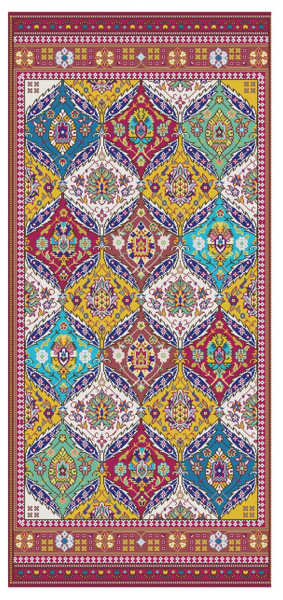 Arabian Nights Rug magic carpet Tapestry от FancyworkDesign