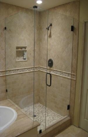 Bathroom Corner Shower Ideas 51 best master bathroom images on pinterest | shower niche