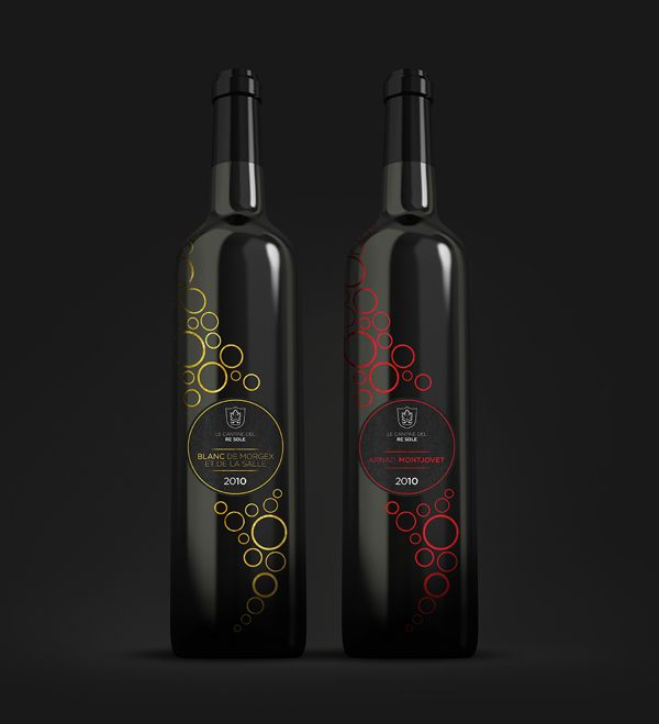 Le cantine del Re Sole - Logo and Packaging Design by Laura Falleti, via Behance