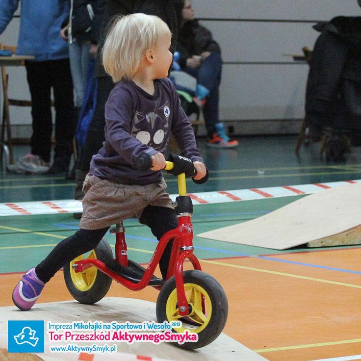 Mikołajki na sportowo i wesoło 2013. Rowerki biegowe Puky http://www.aktywnysmyk.pl/39-rowerki-biegowe-puky