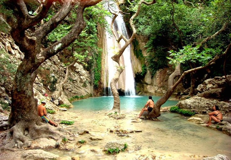 "From ""Meet the World in Greece"": Neda Watterfalls in Messinia Peloponnese! www.house2book.com"
