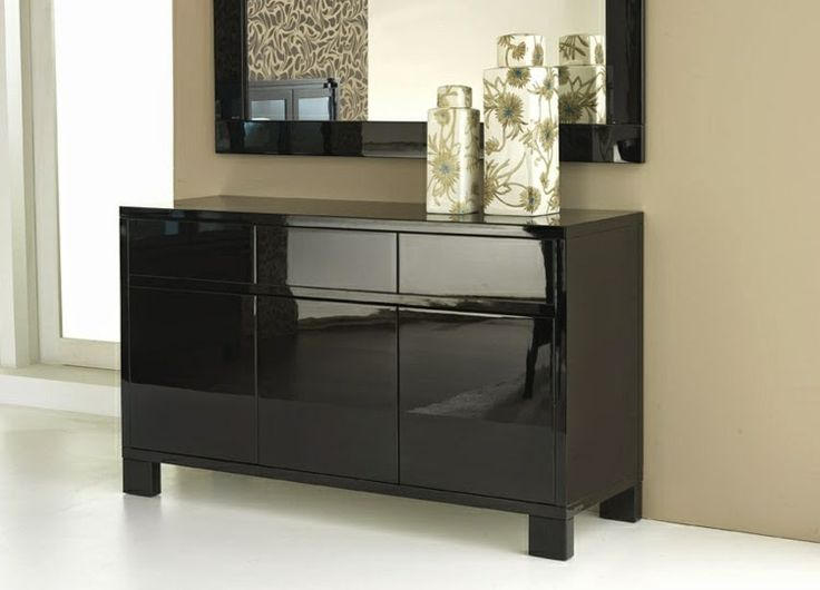 stylish black sideboard ideas for elegant interior design - 43 Best Contemporary BLACK Furniture Images On Pinterest Black