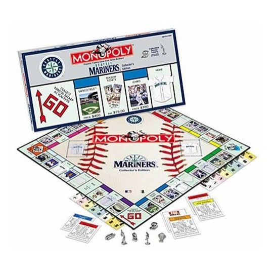 mlb monopoly Own major league baseball and make it yours introducing the first ever monopoly game that you customize choose 22 of the major league baseball teams and place them on the game board.