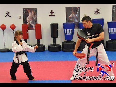 Ejercicio de pliometría para niños de Taekwondo (Parte 2)