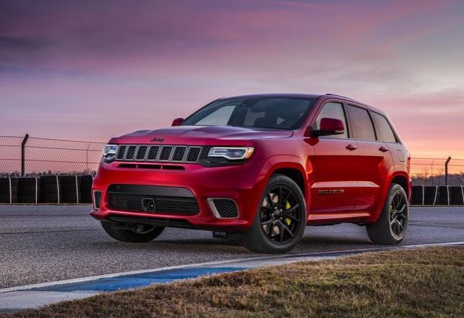 The new 2018 Jeep Grand Cherokee Trackhawk is equipped with the SRT Hellcat engine that powers the Dodge Charger and Dodge Challenger SRT Hellcat models. #JeepTrackhawk #Trackhawk #SRT #JeepLife #JeepGrandCherokee