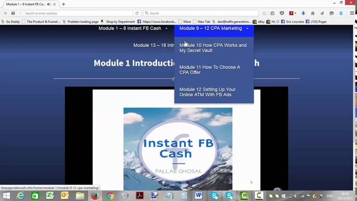 Instant FB Cash Review - Instant FB Cash Members Area Walkthrough