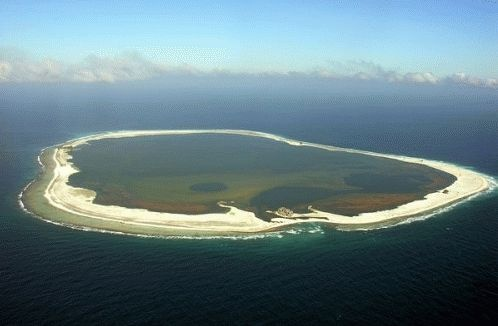 Clipperton island, Pacific ocean