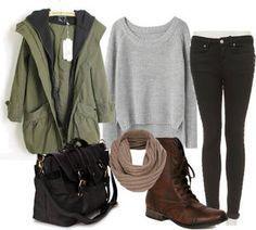 Ropa de invierno: conjuntos de ropa y outfits para el invierno