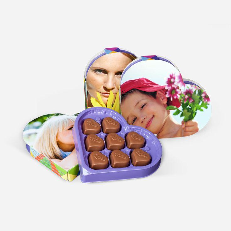 Was schenken zum Muttertag? Unser Tipp: Milka-Herzen mit individueller Vorderseite! Mit Schokolade ist man immer auf der sicheren Seite. Die Verpackung kann dabei selbst gestaltet werden! Kleine Aufmerksamkeit, kreativ verpackt! #muttertag #geschenkideen