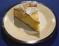 Szybkie i proste ciasto z jabłkami.