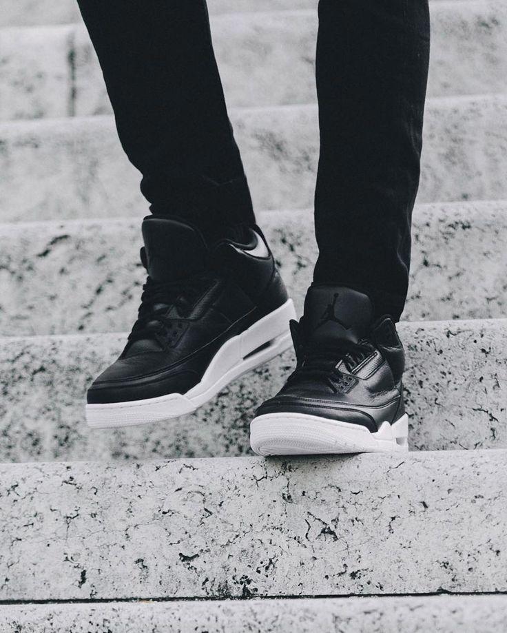 ⬛️ + ⬜️ The #AirJordan III Retro 'Black / White' drops Saturday.