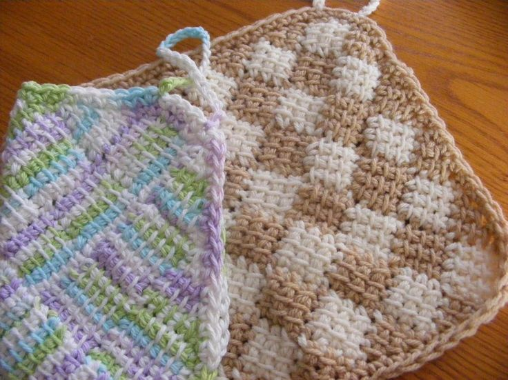 49 mejores imágenes sobre Tunisian crochet en Pinterest   Patrones ...