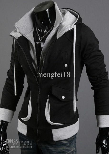 NEW Assassin's Creed Desmond Style Velour Hoodie