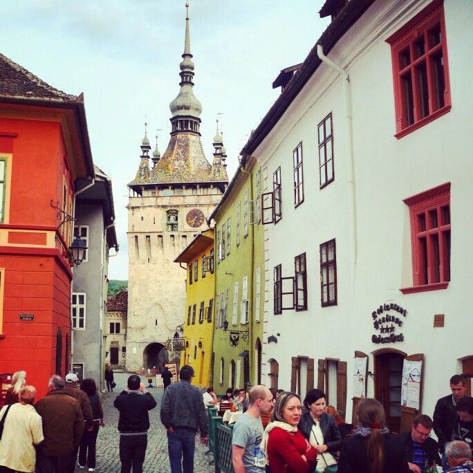Sighisoara ... medieval charm, pure architecture, grace ... one of the few, authentic and well conserved medieval cities in Europe... why Pure Romania  #sighisoara