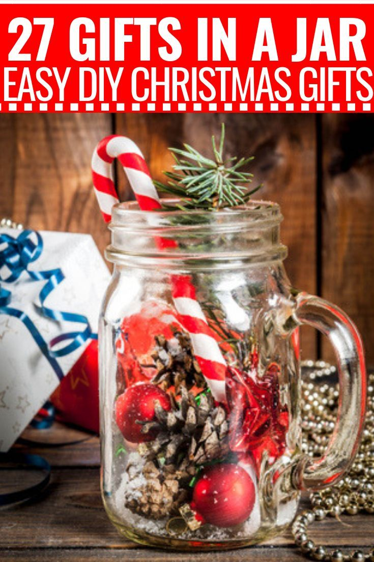 27 Creative Mason Jar Gifts for Christmas! Fabulous DIY Gifts for ...