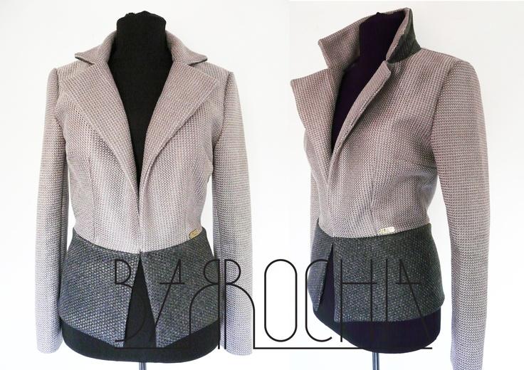 woman cotton blazer