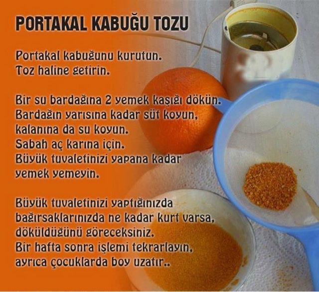 Portakal Kabuğu Tozu nasıl yapılır ve nerelerde kullanılır ve nelerefaydalıdır - Emelin Mutfağından