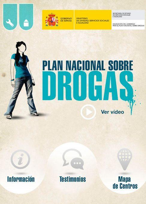 'Plan Nacional sobre Drogas' , una 'app' para prevenir el consumo de drogas