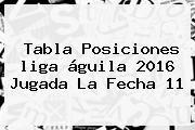 http://tecnoautos.com/wp-content/uploads/imagenes/tendencias/thumbs/tabla-posiciones-liga-aguila-2016-jugada-la-fecha-11.jpg Tabla De Posiciones Liga Aguila 2016. Tabla posiciones liga águila 2016 jugada la fecha 11, Enlaces, Imágenes, Videos y Tweets - http://tecnoautos.com/actualidad/tabla-de-posiciones-liga-aguila-2016-tabla-posiciones-liga-aguila-2016-jugada-la-fecha-11/