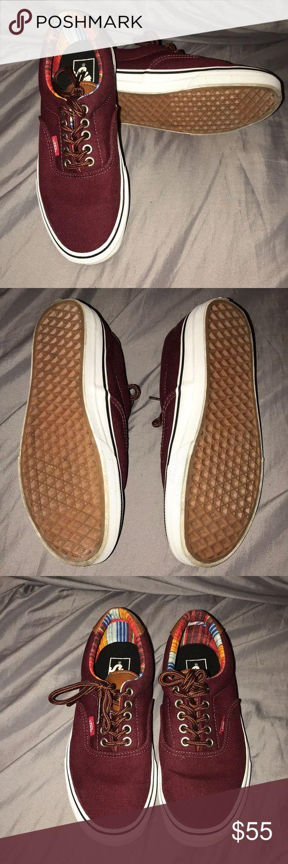 NWOT Unisex Maroon Canvas Vans Brand new!! Unisex Maroon Vans Price is Negotiable‼️ Vans Shoes Sneakers