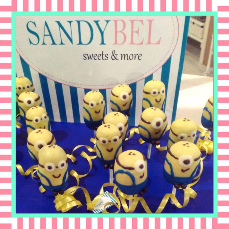 Sweet Minions #cakepops by #sandybel #minions #sweets #nürnberg #fürth