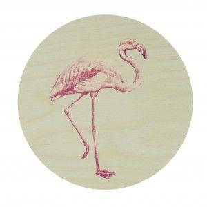 Walldots flamingo