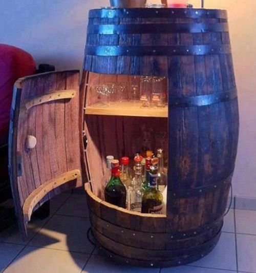Barrel Liquor Cabinet                                                                                                                                                                                 More