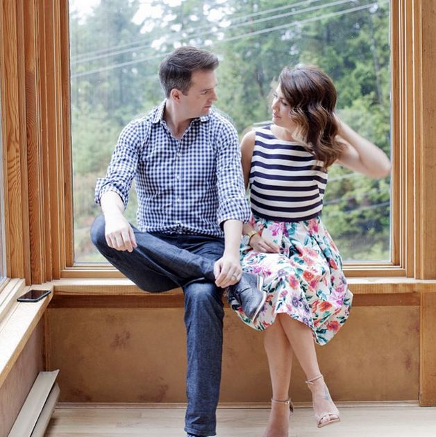 A very calm moment between these two! @jillianmharris @ToddTalbot