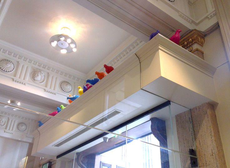 Patrick Murphy Artist, installation on Walker Gallery, Liverpool for Liverpool Biennial  #art #public #installation