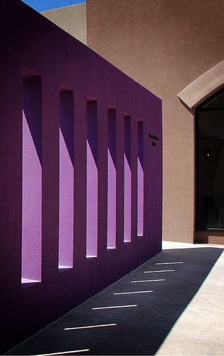 """Purple Wall Revisited"" - National Hispanic Cultural Centre in Albuquerque, New…"