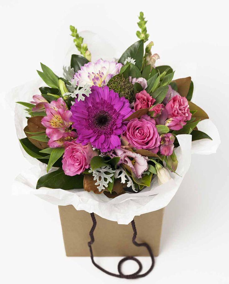 Vintage Flower Box Pink http://www.expressionsfloral.co.nz/ #florist #flowers #bouquets