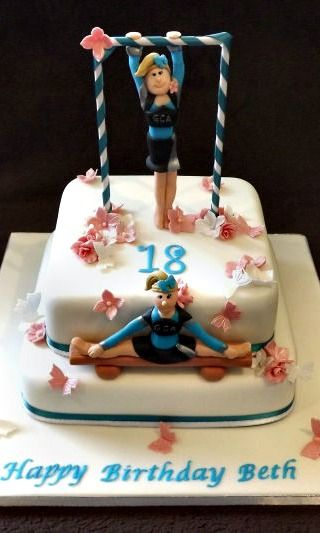 Gymnastic Cake Decorations Uk : 1000+ images about gym cake on Pinterest Birthdays ...