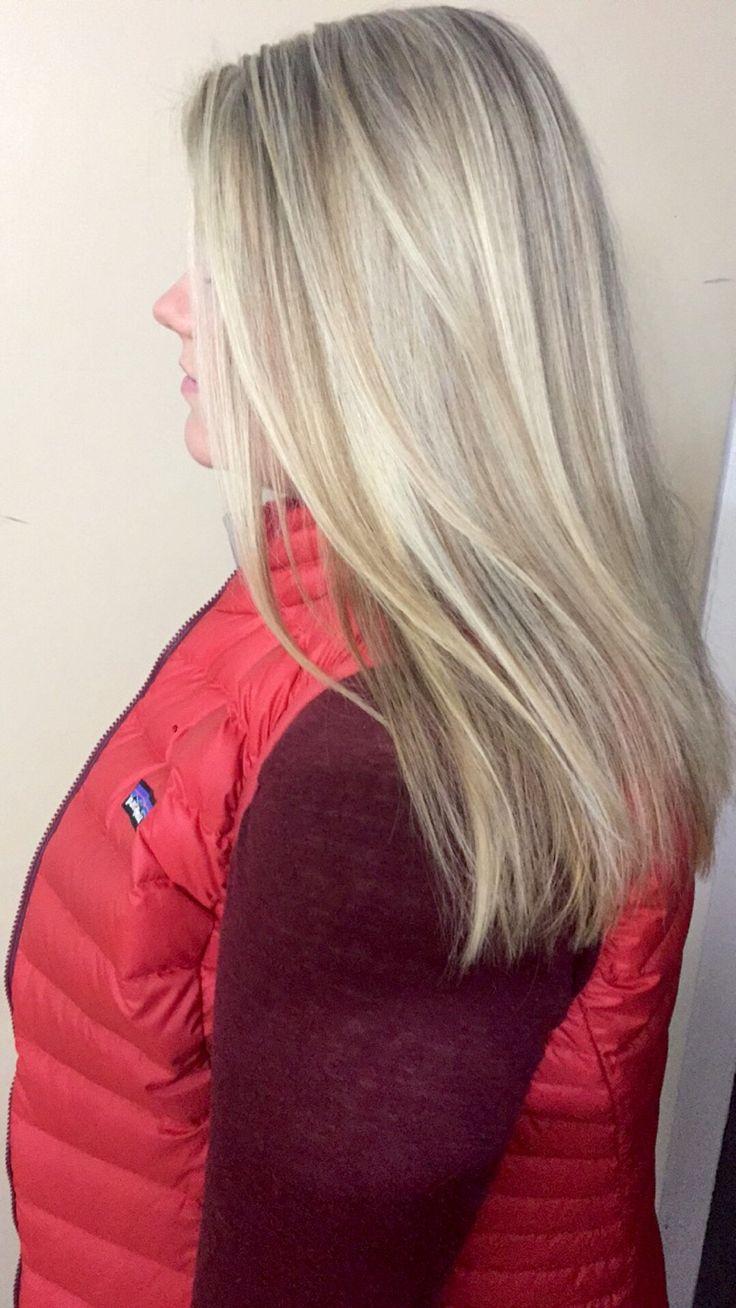 Pearl ash highlight blonde
