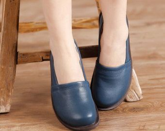 Handmade Summer Shoes for WomenFlat Shoes Casual by HerHis on Etsy