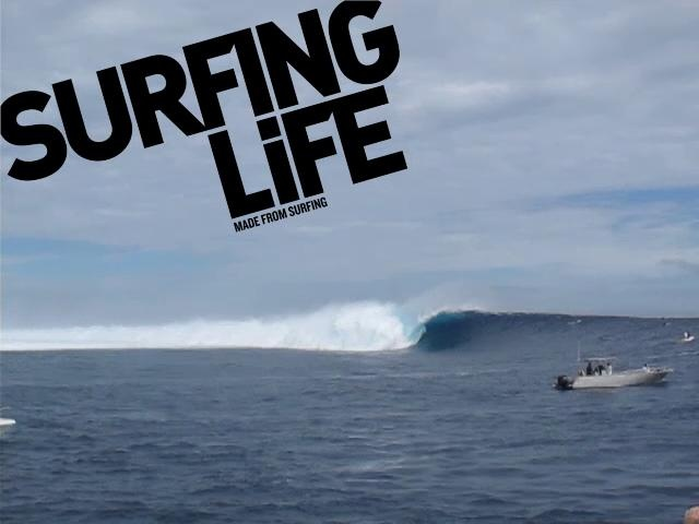 Volcom Fiji Pro: Unridden Monster by Surfing Life. The best wave never ridden has the crew at Cloudbreak going wild...