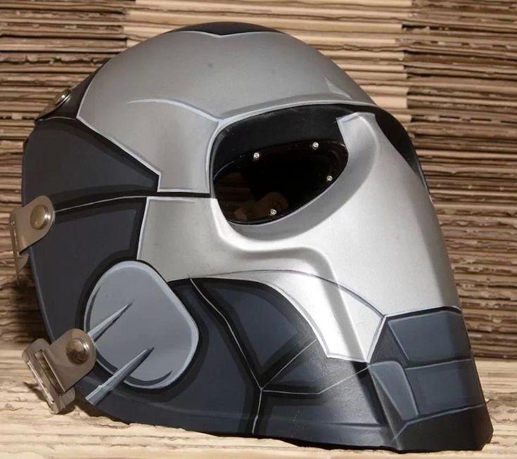 Custom Ironman Paintball Mask