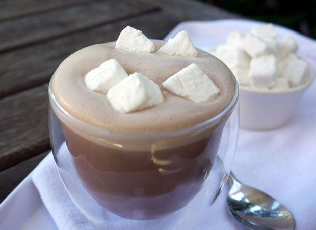 Mexican Hot Chocolate with Mini Vegetarian Marshmallows Recipe - RecipeChart.com