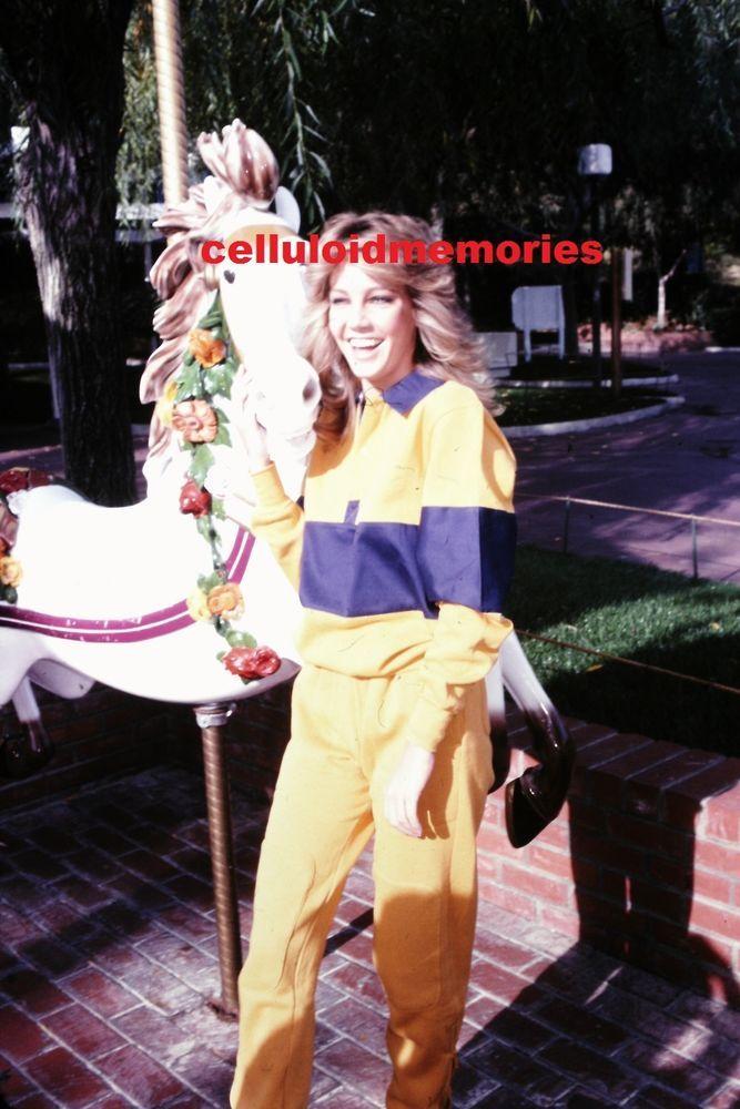 35mm Photo Slide Heather Locklear T J Hooker Dynasty Spin City # 122
