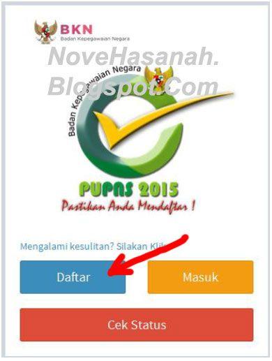 Nove Hasanah: Cara Registrasi PUPNS 2015 di BKN Secara Online